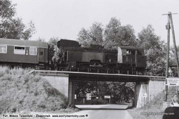 Pociąg specjalny na szlaku. Pszczew  03.10.1987