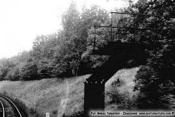 Międzychód - Wierzbno 21.09.1986. Punkt graniczny w latach 1920 - 39.