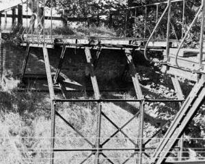 Wierzbno - Międzychód 03.10.1987. Punkt graniczny w latach 1920 -1939