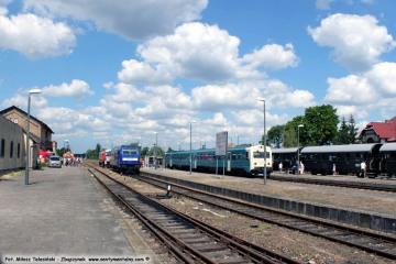 Miedzyrzecz 23.06.2019. Parada lokomotyw.