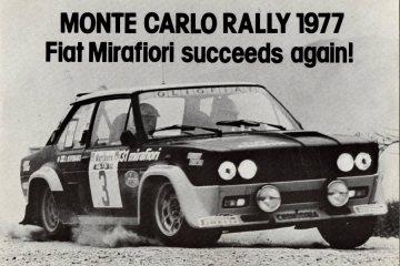 Fiat, przysłany przez firmę FIAT a z Anglii w 1977 roku.