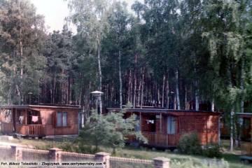 Susiec. Ośrodek wczasów P.K.P. w dniu 20.06.1992