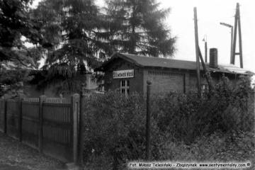 Lwówek Wąskotorowy w lipcu 1985 roku.