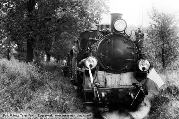 Pociąg specjalny w dniu 13.09.1986 podczas obchodów 100 rocznicy kolejki, przypadającej 23.10.1986. Fotka wykonana na odcinku Trzcianka - Duszniki Wlkp.