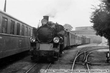 23.10.1987  Przed odjazdem pociągu specjalnego