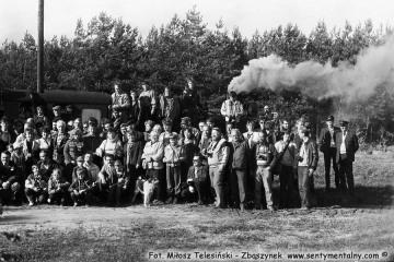 Zdjęcie grupowe uczestników imprezy  23.10.1987