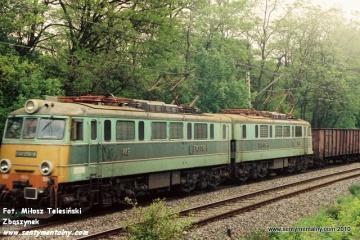 ET41-098 - Idzikowice na odcinku WARSZAWA GDAŃSKA - JELONKI w dniu 06.06.1991