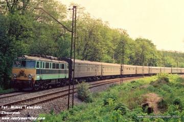 EU07-016 z MD Poznań Franowo  na odcinku WARSZAWA GDAŃSKA - JELONKI w dniu 06.06.1991
