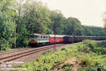 EU07-047 z MD Wrocław na odcinku WARSZAWA GDAŃSKA - JELONKI w dniu 06.06.1991