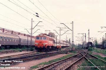 Warszawa Szczęśliwice w maju 1991.