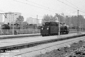 Sochaczew w dniu 06.09.1986. Otwarcie Muzeum Kolei Wąskotorowej w Sochaczewie.