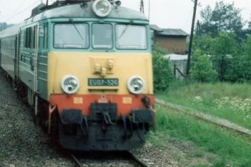 Moczyłki, wjazd do Białogardu w czerwcu 1991.