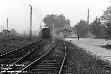 Dobrodzień, przed powrotem do Fosowskich 17.10.1987.