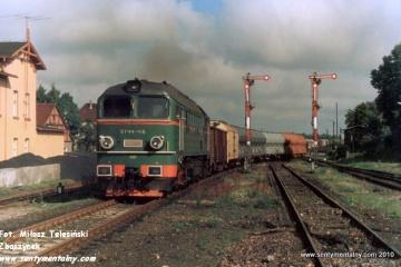 Podczas mijanki w Janowcu Wlkp. w dniu 09.09.1988.