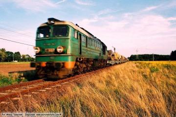 Gorzów Zieleniec, transport wojskowy od strony Skwierzyny w dniu 02.09.2008.