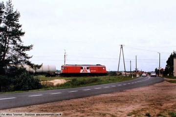 Zbąszynek - Babimost (Podmokla) w dniu 16.09.2008. Towarowy w stronę Zbąszynka.