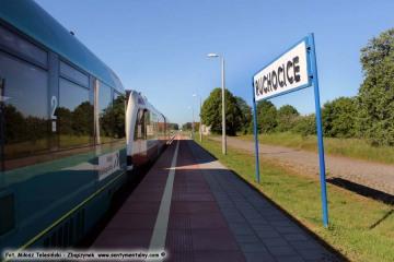 Ruchocice 27.05.2017 Pociąg osobowy z Wolsztyna do Poznania.