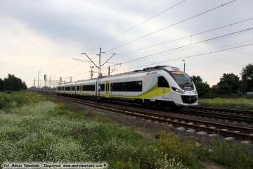 Zbąszyń 10.07.2017. R-79607/6 Poznań - Nowa Sól. ED78-016A