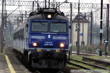 Sulechów 09.04.2019. Intercity S.A. relacji Zielona Góra - Białystok.