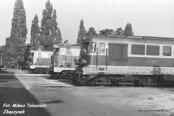 Zbąszynek lokomotywownia 03.10.1987
