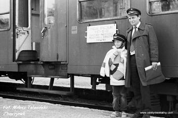 Kier. pociągu z córką  03.10.1987
