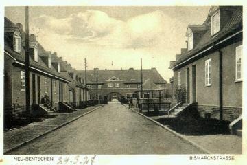Ulica Kilińskiego (Bismarckstrasse), w stronę Placu Wolności.