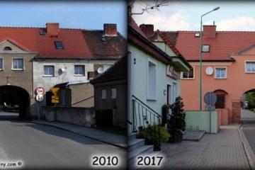 Ulica Kilińskiego w latach 2010 i 2017