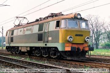 ET22-870 w kierunku Poznania w dniu 09.05.1989.