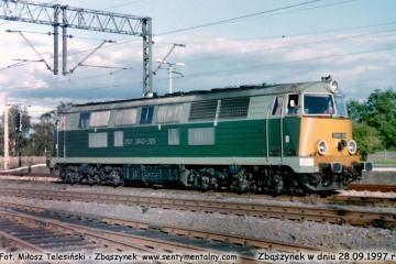 SP45-205 z Leszna w dniu 28.09.1997.