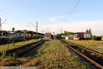 Oczekiwanie na wodowanie pociągu DB 25.05.2019