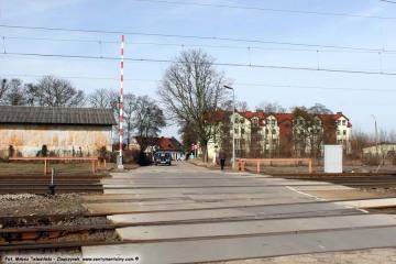 04.03.2017 Powstały w latach 60 tych przejazd łączący miasto z częścią Kolejową wybudowaną ulicą Kolejową.