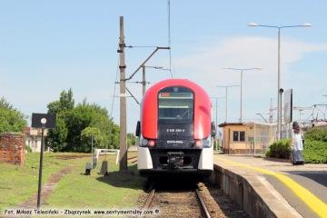 Osobowy do Poznania podstawia się wyjątkowo na peron pierwszy 22.06.2017