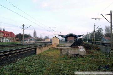 Perony, bocznica - od 1944 roku. 13.11.2008