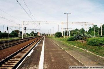 Koniec peronu drugiego. 14.09.2008