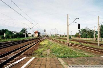 Koniec peronu drugiego. 14.08.2008