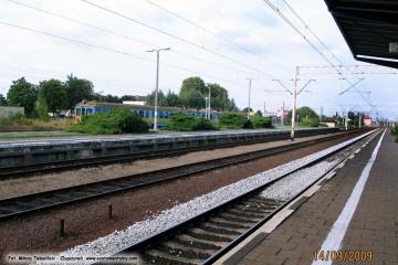 Dworzec osobowy w Zbąszynku. 14.09.2009