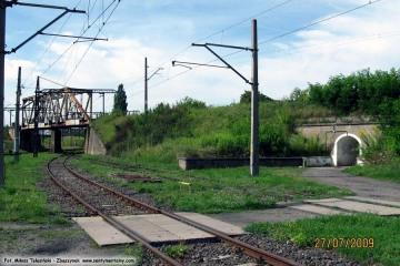 Dworzec rozrządowy w Zbąszynku. 27.07.2009