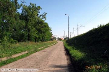 Ulica Kolejowa, fragment powstały w 2 połowie lat 60 tych. 05.07.2011