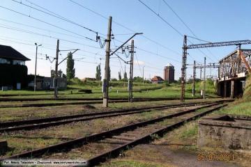Dworzec rozrządowy w Zbąszynku. 05.07.2011