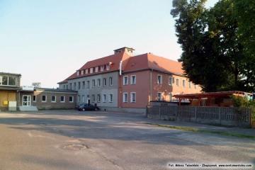 Budynek biurowy na ekspedycji, dawny Urząd Celny  (do 1945 roku). 19.07.2014