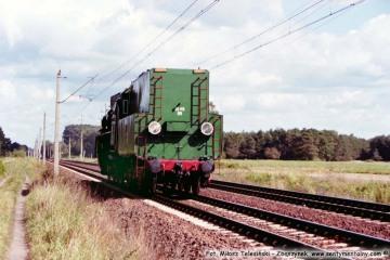"""Koło nastawni """"Chlastawa"""" Ol49 69 - 02.09.2002"""