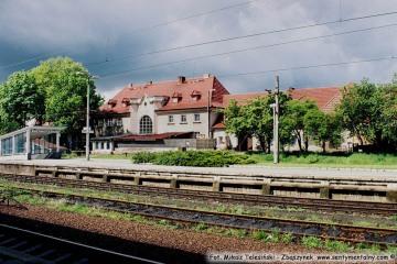 Dworzec osobowy w Zbąszynku. 09.05.2005