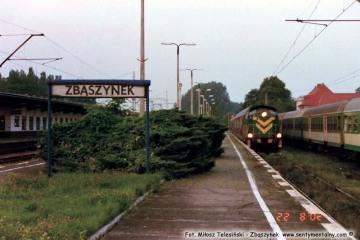 Pociąg do Międzyrzecza. 22.08.2002