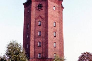 Wieża ciśnień z 1925 roku. 25.08.2002