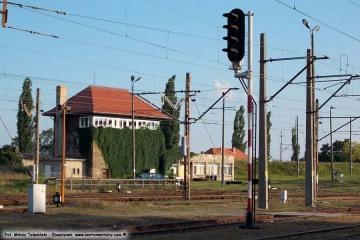 Nastawnia ZK-13 na rozrządzie w dniu 24.08.2013
