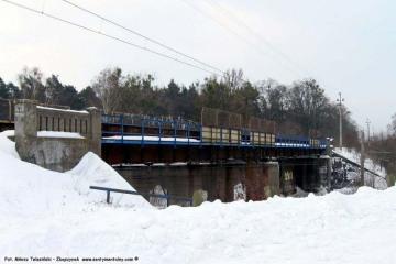Wiadukt do Czerwieńska - Babimostu w dniu 06.02.2010