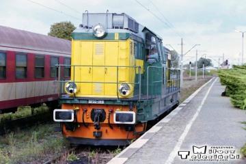 """SP32-088 od pociągu """"Międzyrzeckiego"""" 19.09.2002"""
