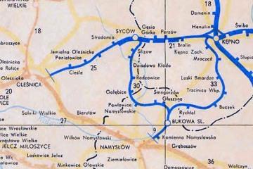 Mapka z 1960 r.