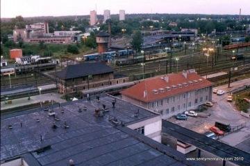 Olsztyn Gł.  w czerwcu 1998 r.