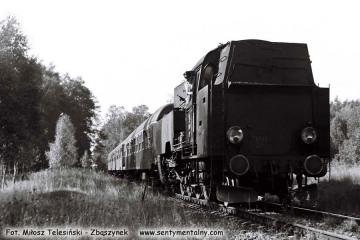 Tkt48-28 na linii Międzyrzecz - Wierzbno 03.10.1987.